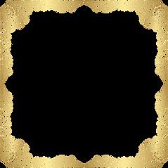 Frame_Deco_Gold_Transparent_PNG_Clip_Art