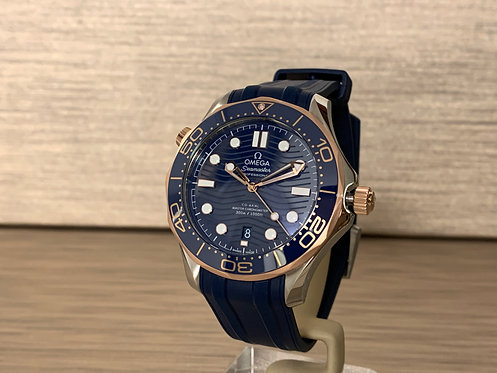 Omega Seamaster Diver 300M Omega Co‑Axial Master Chronometer 210.22.42.20.03.002