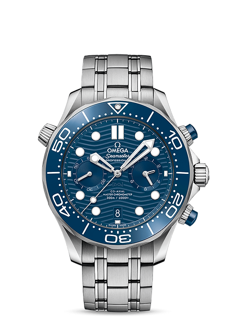 OMEGA DIVER 300M OMEGA CO‑AXIAL MASTER CHRONOMETER CHRONOGRAPH 44 MM 210.30.44.51.03.001