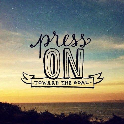 Press On...Toward JOY