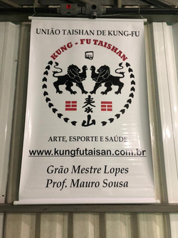 Banner Kung Fu Taisan