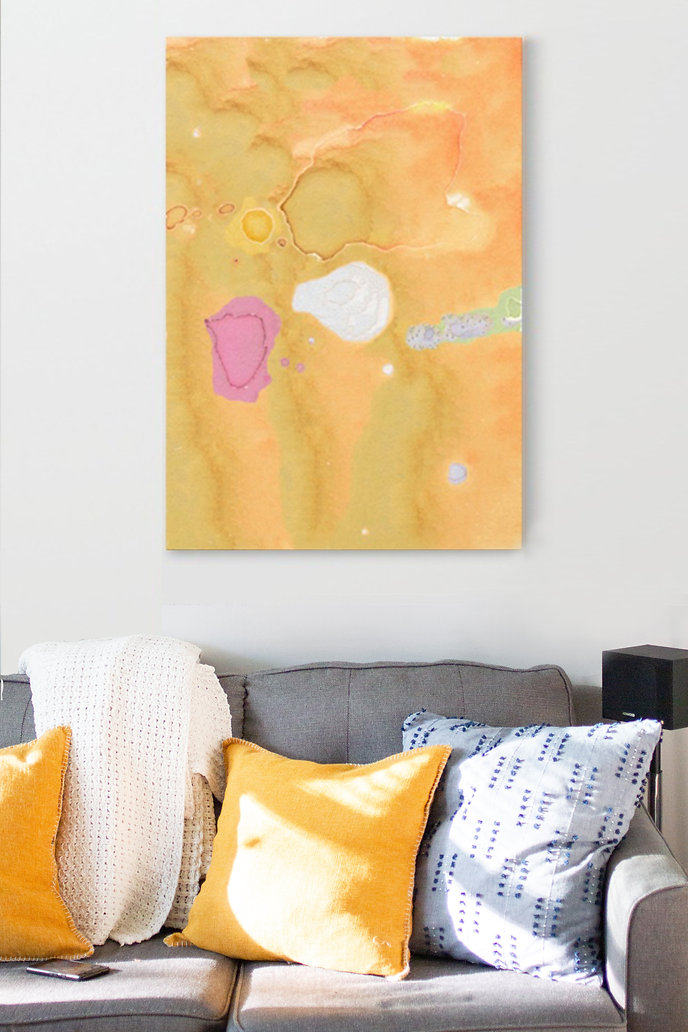 Abstraction-made-using-watercolor-printed-on-canvas-to-decorate-your-wall.