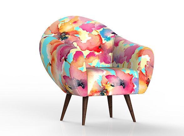 Floral-colorful-pattern-for-armchiar-by-Ewa-Zwolinska