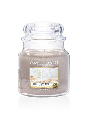 "Moyenne Jarre ""Bois flotté"" Yankee Candle"