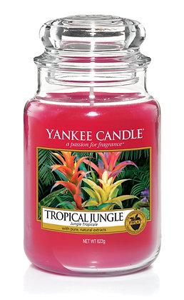 "Grande jarre ""Jungle tropicale"" Yankee Candle"