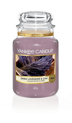 "Grande jarre ""Lavande séchée & chêne"" Yankee Candle"