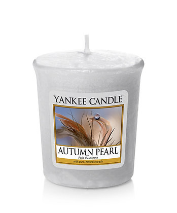 "Votive ""Perle d'automne"" Yankee Candle"