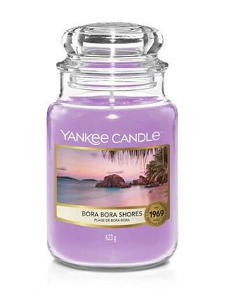 """Grande jarre """"Plage de Bora-Bora"""" Yankee Candle"""