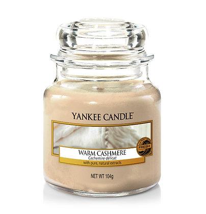 """Petite jarre """"Cachemire délicat"""" Yankee Candle"""