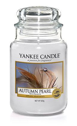 "Grande jarre ""Perle d'automne"" Yankee Candle"