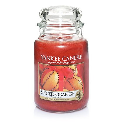 "Grande jarre ""Orange épicée"" Yankee Candle"