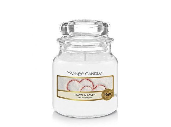 "Petite jarre ""Amour d'hiver"" Yankee Candle"