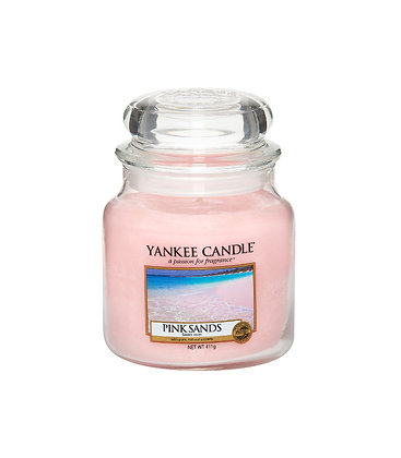 "Moyenne Jarre ""Sables roses"" Yankee Candle"