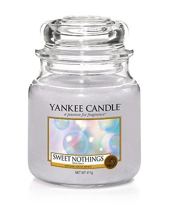"Moyenne Jarre ""Mots doux"" Yankee Candle"