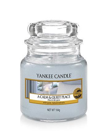 """Petite jarre """"Havre de paix"""" Yankee Candle"""