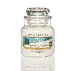 """Petite jarre """"Coton frais"""" Yankee Candle"""
