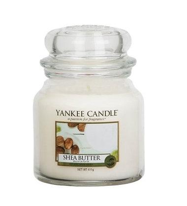 """Moyenne Jarre """"Beurre de Karité"""" Yankee Candle"""