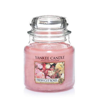 "Moyenne Jarre ""Roses fraîchement coupées"" Yankee Candle"