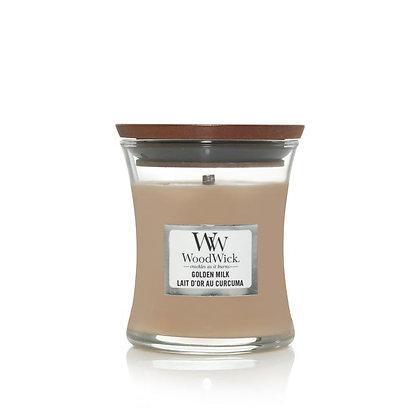 "Mini jarre ""Lait d'or au curcuma"" WoodWick"