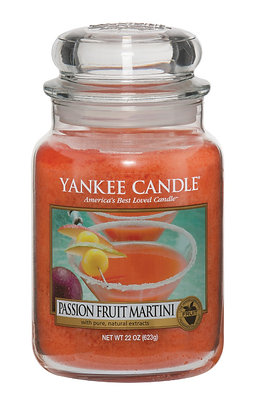 "Grande jarre ""Cocktail fruit de la passion"" Yankee Candle"