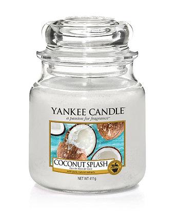 """Moyenne Jarre """"Eau de noix de coco"""" Yankee Candle"""