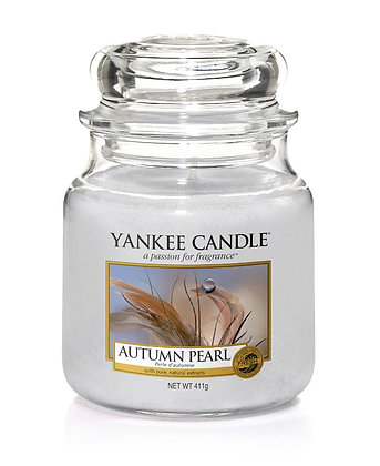 """Moyenne Jarre """"Perle d'automne"""" Yankee Candle"""