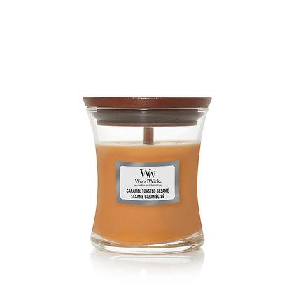 """Mini jarre """"Sésame caramélisé"""" WoodWick"""