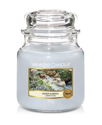 "Moyenne Jarre ""Jardin d'eau"" Yankee Candle"