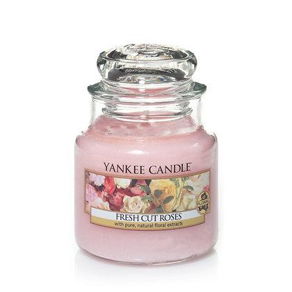 """Petite jarre """"Roses fraîchement coupées"""" Yankee Candle"""
