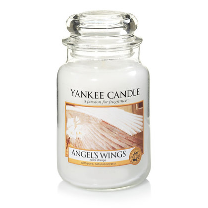 """Grande jarre """"Ailes d'ange"""" Yankee Candle"""