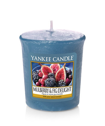"Votive ""Figues et mûres gourmandes"" Yankee Candle"
