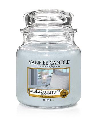 "Moyenne Jarre ""Havre de paix"" Yankee Candle"