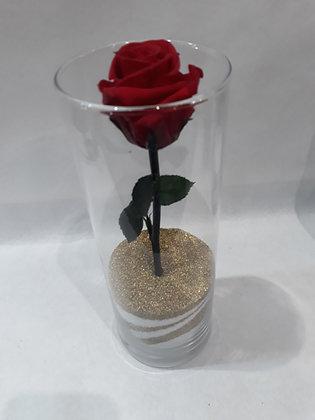 Rose éternelle en vase n°4