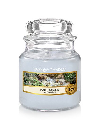"""Petite jarre """"Jardin d'eau"""" Yankee Candle"""