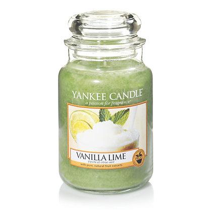 """Grande jarre """"Vanille et citron vert"""" Yankee Candle"""