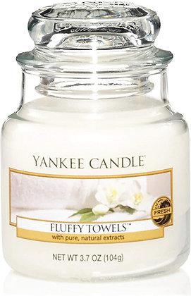 "Petite jarre ""Serviettes moelleuses"" Yankee Candle"