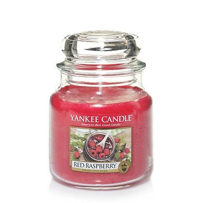"""Moyenne Jarre """"Framboise rouge"""" Yankee Candle"""