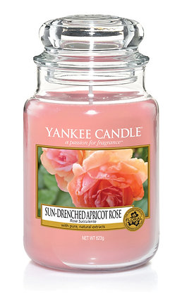 "Grande jarre ""Rose succulente"" Yankee Candle"