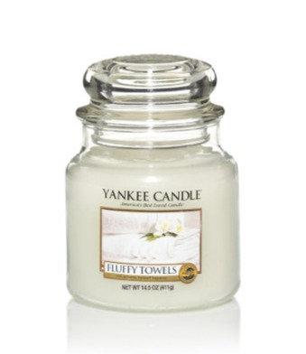 "Moyenne Jarre ""Serviettes moelleuses"" Yankee Candle"