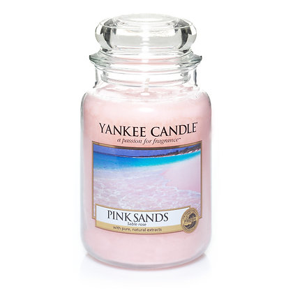 "Grande jarre ""Sables roses"" Yankee Candle"