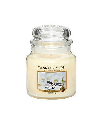 "Moyenne Jarre ""Vanille"" Yankee Candle"
