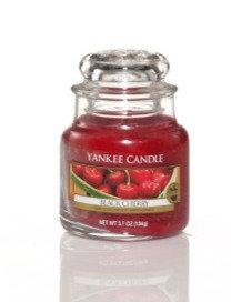 "Petite jarre ""Cerise noire"" Yankee Candle"