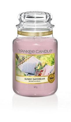 """Grande jarre """"Rêverie au soleil"""" Yankee Candle"""