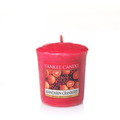 """Votive """"Mandarine et canneberge"""" Yankee Candle"""