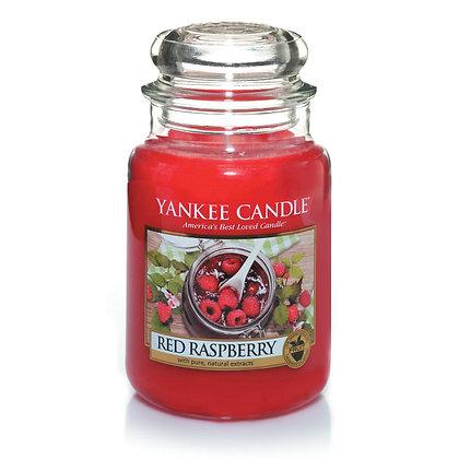 "Grande jarre ""Framboise rouge"" Yankee Candle"