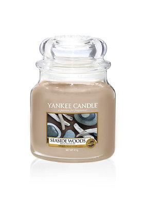 "Moyenne Jarre ""Bois en bord de mer"" Yankee Candle"