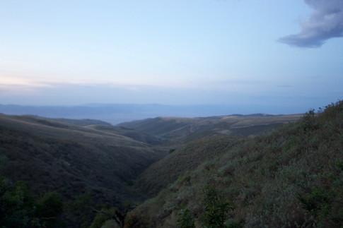 Ngorongoro Conservation Area where the Maasai live