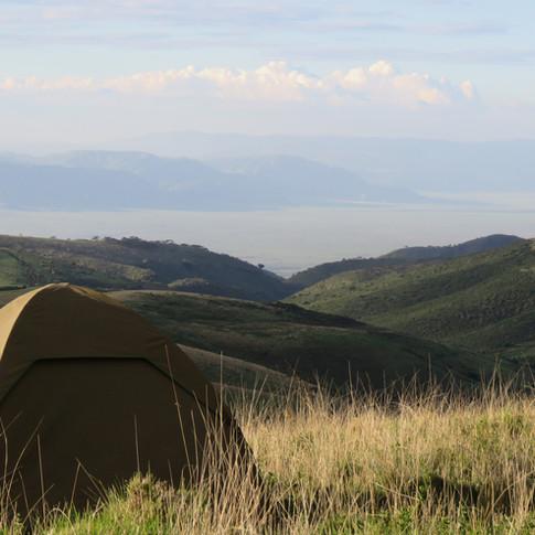 Walking safari in Ngorongoro, Tanzania with the Maasai