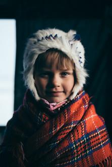 A Sami girl from Kautokeino
