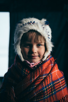 A Sami girl from Kautokeino